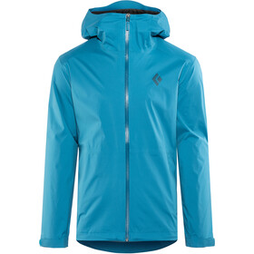 Black Diamond Stormline Stretch Regenjas Heren, kingfisher